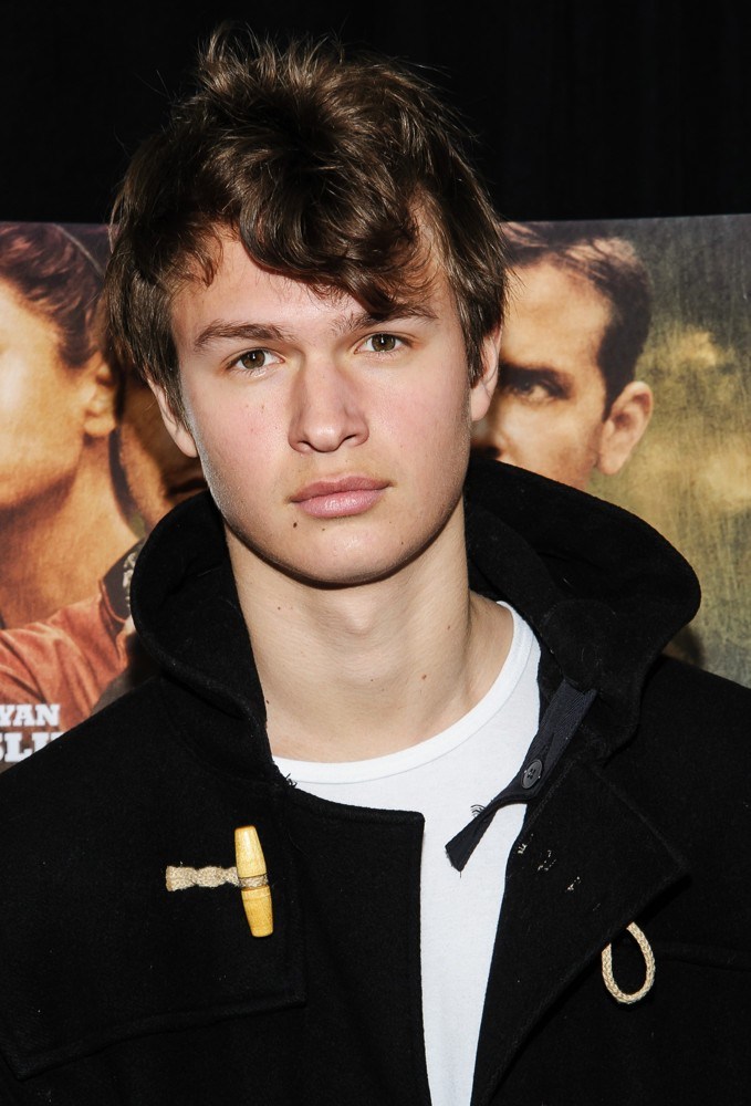 Ansel Elgort Young